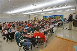 Lunch and Learn turns meal time into educational opportunity