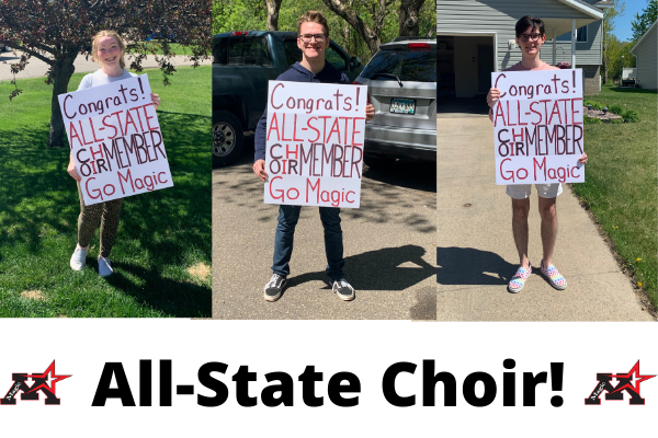 Three MHS students selected to All-State Choir