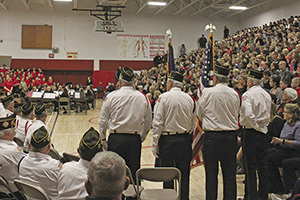 Schools across ISD 882 will be celebrating Veterans Day with a variety of programming on Nov. 9