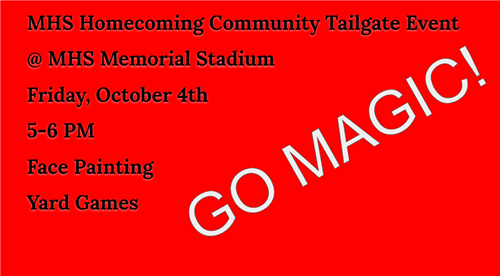 Homecoming Community Tailgate Event