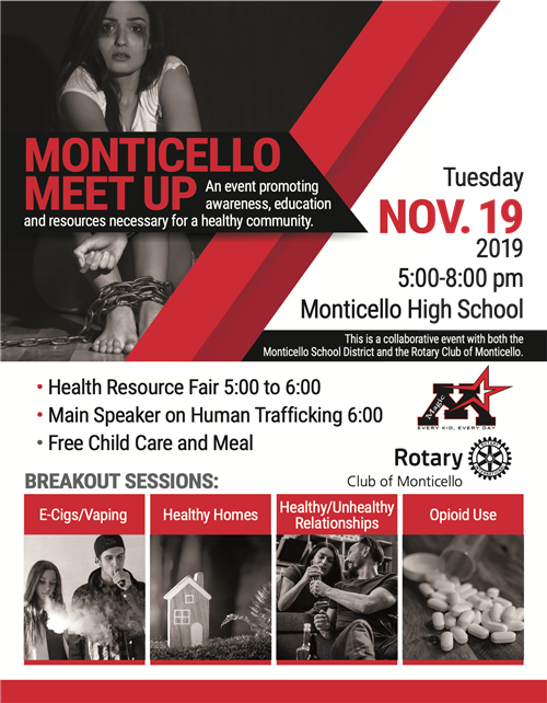 Monticello Meet Up