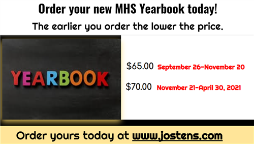 2021 MHS Yearbook