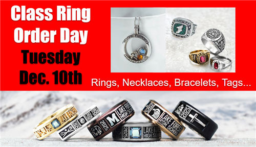 Class Ring Order Day