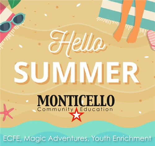 Monticello Community Education Summer 2019