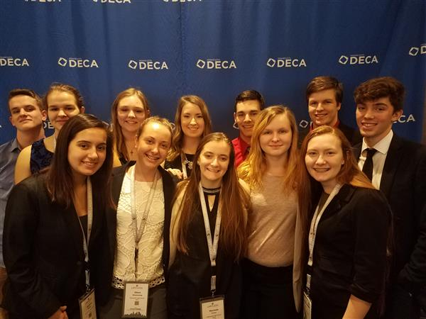 MHS DECA State Results!