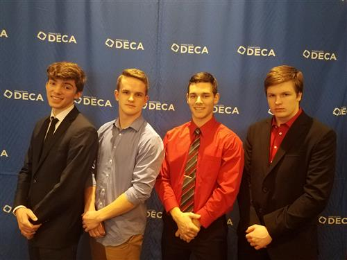 MHS DECA State Participants