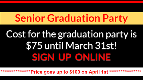 MHS All Night Graduation Party Sign Up Info