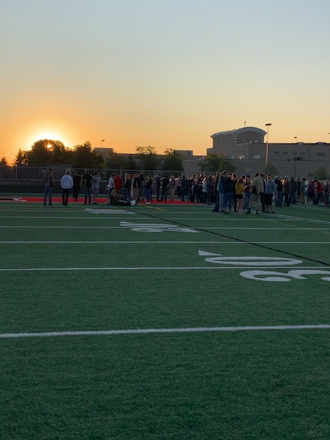 A bright start for the Class of 2020 at the Senior Sunrise !