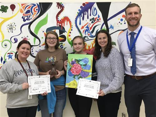 MHS Artists of the Season Fall 2019