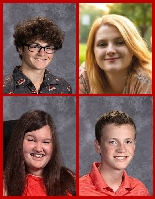 MHS Students of the Month  April 2019