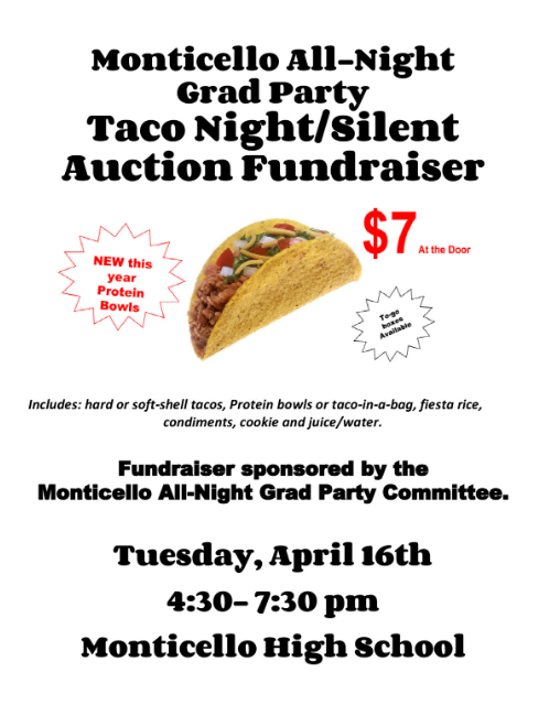 MHS Taco Night & Silent Auction Fundraiser