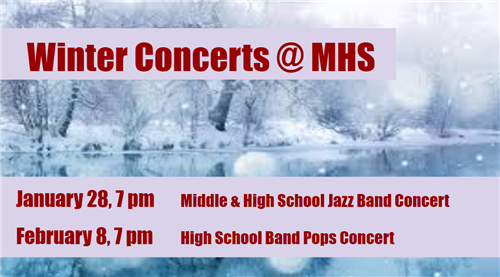 Upcoming Concerts @ MHS