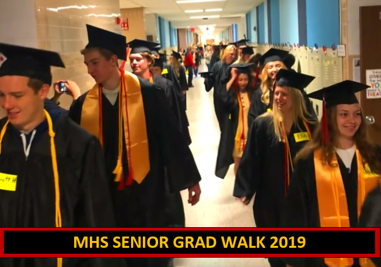 Seniors Take a Final Walk at Elementary Schools and We Caught the Excitment on Video!