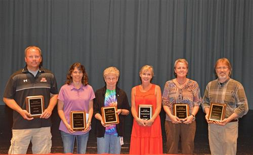 MHS Staff recognized for their service!