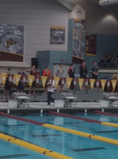 Congratulations to the Boys Swim/Dive Team for their 14th place finish at the state meet!