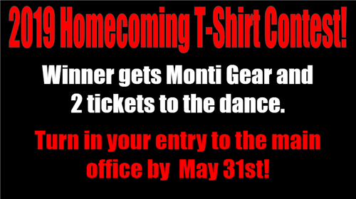 MHS Homecoming T-Shirt Design Contest